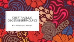 Ringvorlesung Psychoanalyse